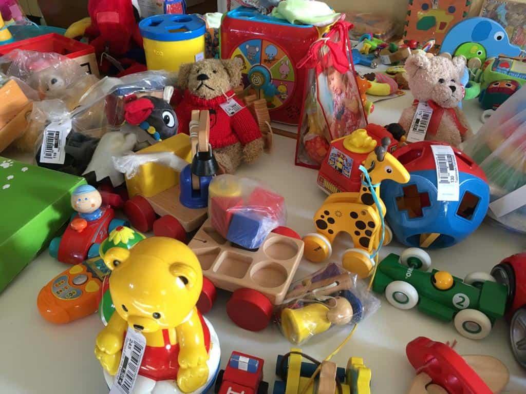 Spielsachen für die Kleinen